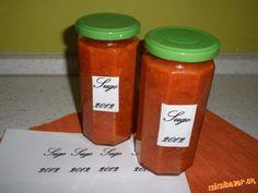 Sugo je výborná omáčka na špagety. Je robená podľa talianskeho receptu. Suroviny pridávam od oka. Ku... Hot Sauce Bottles, Drink Sleeves, Food And Drink, Canning, Drinks, Drinking, Beverages, Drink, Home Canning