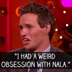 "When Eddie Redmayne revealed that he had his sexual awakening whilst watching The Lion King. | 19 Times ""The Graham Norton Show"" Killed It"