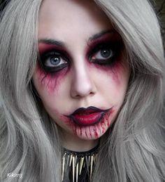 Maquillaje de zombie de Kikimj
