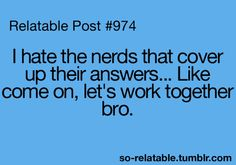 I'm one of those nerds... Haha