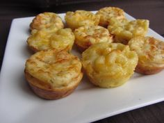 mac n cheese bites=yummy   mini party appetizers