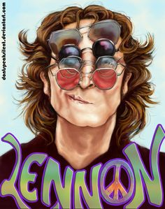 John Lennon - Collab with Zara by DontSpeakSilent on deviantART