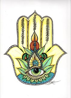 Hamsa+by+DaveLDesigns+on+Etsy,+$40.00