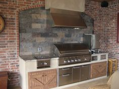 1000 Images About Outdoor Kitchen On Pinterest Outdoor Kitchens Black Tiles And Outdoor