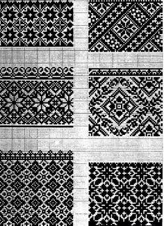 І Cross Stitch Borders, Cross Stitch Flowers, Cross Stitch Designs, Cross Stitching, Cross Stitch Embroidery, Embroidery Patterns, Cross Stitch Patterns, Folk Embroidery, Motif Fair Isle