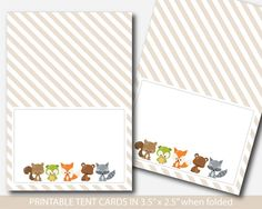 Woodland food tent cards, Fox baby shower food labels, Fox food tent labels, Fox buffet labels, BF3-10 Fox Food, Food Tent, Tent Cards, Food Labels, Woodland Baby, Cute Food, First Birthdays, Baby Gifts, Buffet