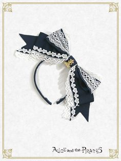 Alice and the Pirates Grosgrain Alice Ribbon Headbow