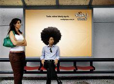50 exemplos de Marketing de Guerrilha #2 | Criatives | Blog Design, Inspirações, Tutoriais, Web Design