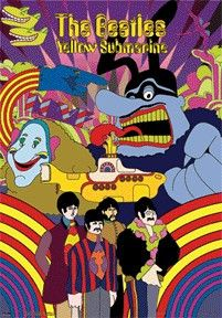 You'll feel as though you could climb aboard the Yellow Submarine yourself with this psychedelic The Beatles Yellow Submarine poster. Be amazed with dimensions at 18 x 28.                                                                                                                                                                                 More