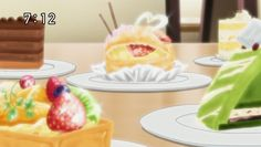 Yumeiro Patissiere. I hate how good anime food looks....