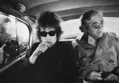 Bob Dylan & Albert Grossman London 1966.  Albert Bernard Grossman (May 21, 1926 - January 25, 1986) was an American entrepreneur and manager in the American folk music scene and rock and roll. He was most famous as the manager of Bob Dylan between 1962 and 1970.