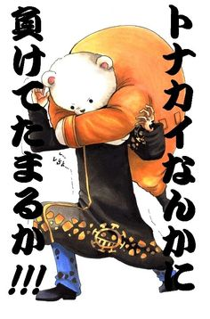 Trafalgar Law and Bepo