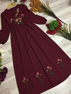 Best Trendy Outfits Part 34 Stylish Dress Designs, Designs For Dresses, Stylish Dresses, Cute Dresses, Casual Dresses, Trendy Outfits, Abaya Fashion, Muslim Fashion, Modest Fashion
