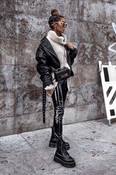 Tendances mode automne 2019 - Idee cadeau femme - Best Women's and Men's Streetwear Fashion Ideas, Combines, Tips Cute Winter Outfits, Winter Fashion Outfits, Look Fashion, Fall Outfits, Autumn Fashion, Fashion Women, High Fashion, Fashion Check, Travel Outfits