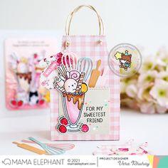 moccavanila by vera rhuhay: MAMA ELEPHANT JANUARY 2021 STAMPEDE