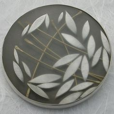 Carla Pennie Jewelry Design – Brooches – Gold Silver Leaf Forms