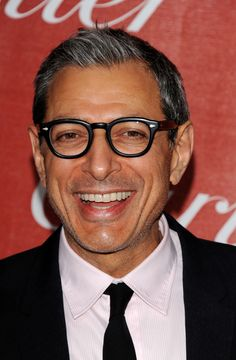 Jeff Goldblum  born 10-22-52 --  who the hang, that i knew, does he remind me of?  Hmm? I may be getting an idea.  Nice teeth...