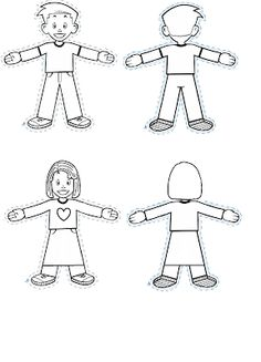Flat Stanley Template 8 Free Pdf Download Sample Templates