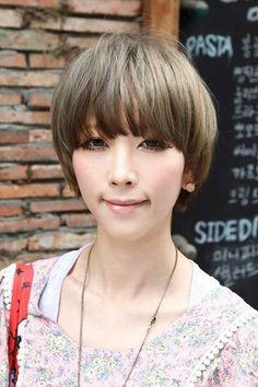 20 cortes de pelo corto para las mujeres asiáticas //  #asiáticas #Cortes #corto #mujeres #para #pelo Haga clic para obtener más peinados : http://www.pelo-largo.com/20-cortes-de-pelo-corto-para-las-mujeres-asiaticas/