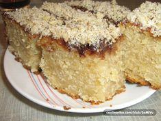 Najbolji recepti na jednom mjestu Posne Torte, Cookie Recipes, Vegan Recipes, Vegan Food, Vegan Apple Cake, Kolaci I Torte, Square Cakes, Brownie Cookies, Sweet Cakes