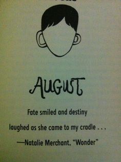 Book: Wonder by R.J. Palacio