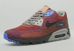 The Jacquard concept for Air Max runners has proven to be successful when it comes to creating a unique look on this decades-old shoe. Already fashioned with the new Lunar sole, the Air Max 90 gets a full Jacquard upper … Continue reading →