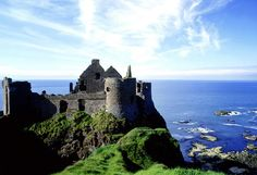 Dunluce Castle North Coast County Antrim, Ireland