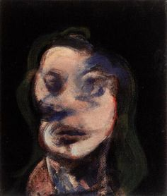 Francis Bacon, Study for Portrait (Looking Right), 1964ARTIST FRANCIS BACONFosterginger.Pinterest.ComMore Pins Like This One At FOSTERGINGER @ PINTEREST No Pin Limitsでこのようなピンがいっぱいになるピンの限界