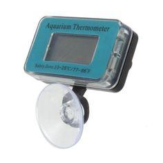 Submersible Fish Tank Aquarium LCD Thermometer Temperature Meter C14   Pet Supplies, Fish & Aquariums, Meters & Controllers   eBay!