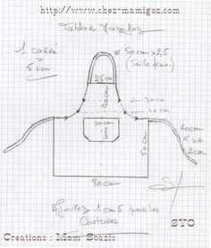 Tuto tablier Pour les débutantes http://lily-bricoles.over-blog.com ...