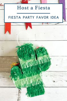 Head to Everyday Party Magazine to see how easy it is to make an adorable Fiesta Party Favor all the adult guests will love! #Fiesta #CincoDeMayo #CasamigosTequila