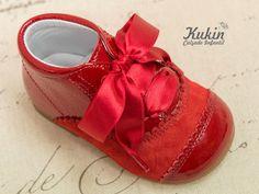 botas rojas landos botas niña - botas niño - landos - calzado infantil - kukin
