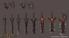 圖片 KUF2_Berserker_weapown :: 動作戰略大作《熾焰帝國2》三大英雄職業細節公開 年底舉行公測 :: 遊戲基地 gamebase