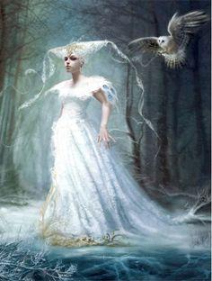 Ghost of Winterland   Mélanie DELON Fantasy Images, Fantasy Art, Melanie Delon, Fairy Princesses, All Nature, Photo Story, Fantasy Illustration, Freelance Illustrator, Faeries