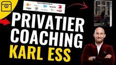 Karl Ess, Coaching, Marketing, Fit, News, Youtube, Earning Money, Training, Youtubers