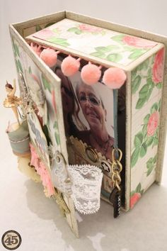 Denise_hahn_graphic_45_botanical_tea_box_mini_album_mothers_and_daughters - 08-imp http://g45papers.typepad.com/graphic45/2014/03/lets-celebrate-national-craft-month-with-6-brand-new-projects.html