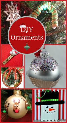 Get ready to trim your tree on a dime with some of the most beautiful homemade Christmas ornaments!