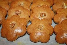 Slovakian Food, Holiday Recipes, Muffin, Foods, Cookies, Breakfast, Desserts, Recipes, Bakken