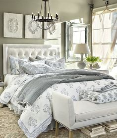 cosy master bedroom decoration