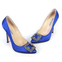 My Manolo Wedding Shoes