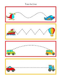 Preschool Printables: Transportation