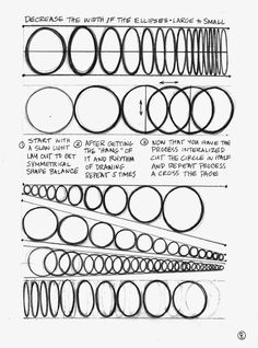 Lines, Ellipses, Arcs and Curves Basic Sketching, Basic Drawing, Drawing Tips, Drawing Sketches, Form Drawing, Perspective Drawing Lessons, Drawing For Beginners, Beginner Drawing, Instruções Origami