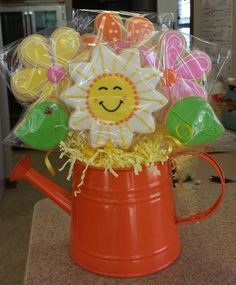 You Are My Sunshine Cookie Bouquet