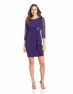 Jessica Howard Women's Tucked Waist Dress, Purple, 6 Jessica Howard,http://www.amazon.com/dp/B00CYA7EJO/ref=cm_sw_r_pi_dp_oKMMsb092VKDDF5C