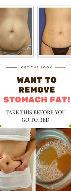 WANT TO REMOVE STOMACH FAT! -TAKE THIS BEFORE YOU GO TO BED!!!!