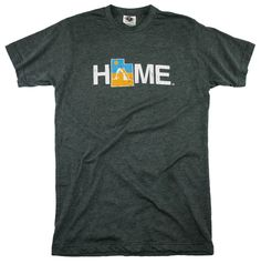 Our signature Utah HOME design lets others know that there is no place like home. Product Details - 65% polyester and 35% ring-spun cotton - Double-needle hem - Taped neck and shoulders for durability