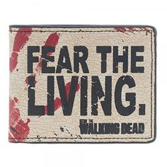 The Walking Dead Fear The Living Bifold Brieftasche