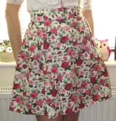 Simple Skirt Tutorial #howto #tutorial