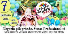 Nuova apertura Balloon Express Shop express shop Giarre.... New opening, new shop same professionalism