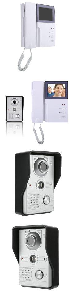 "4"" Inch TFT LCD monitor Low Power Consumption Door Phone System Visual Intercom Doorbell Night Vision Outdoor Infrared Camera"